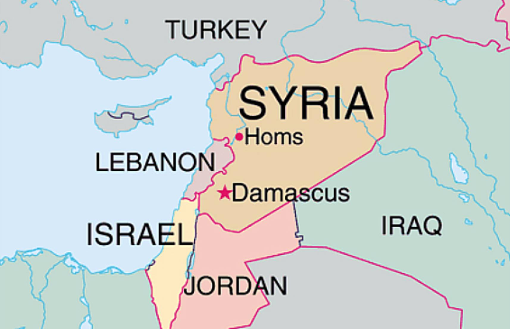 syrien karte aktuell 2020 KenFM über: Syrien als Spielball geopolitischer Interessen (Wege