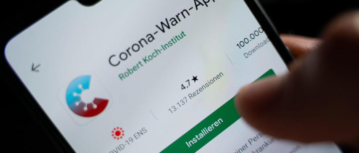 Corona App Downloads Anzahl