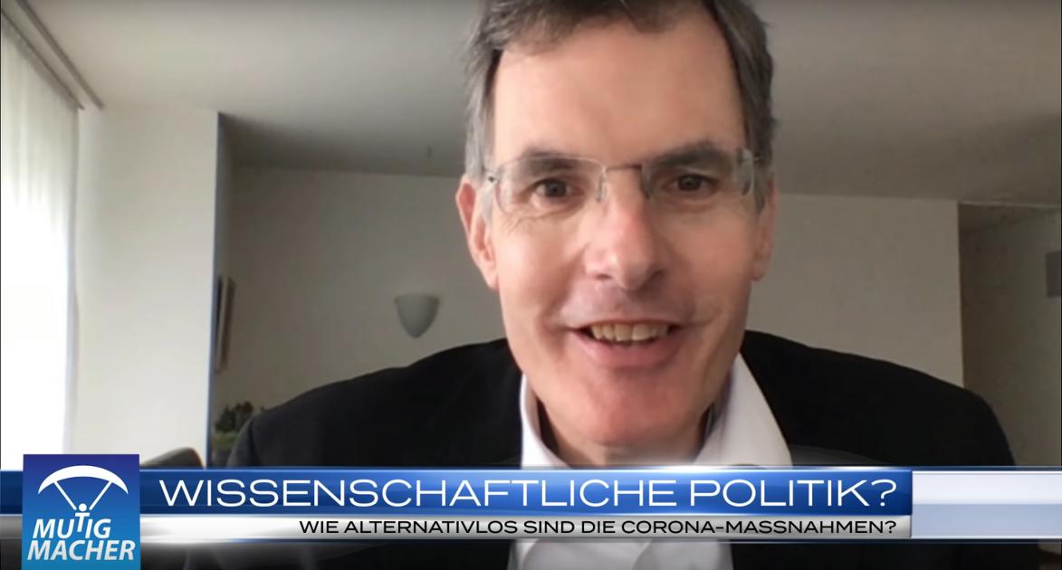 """Mutigmacher TV: """"Wissenschaftliche Politik?"""" – Interview mit Prof. Dr. Michael Esfeld"""
