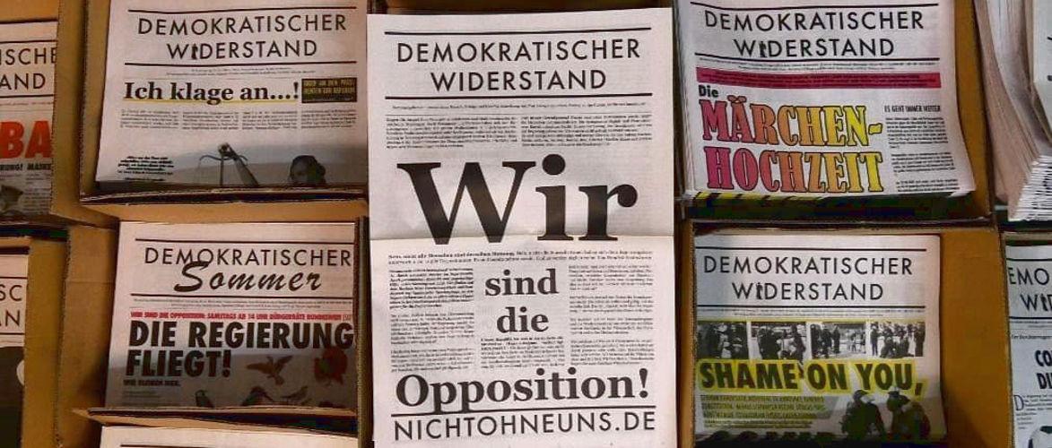 Wochenzeitung Demokratischer Widerstand |  Von Thomas Berthold, Hermann Ploppa, Anselm Lenz und der DW-Redaktion